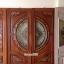 ประตูไม้สักกระจกนิรภัย แกะองุ่น เกรดA รหัส A38 thumbnail 1