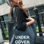 GrabMeNow Tote Bag UNDER COVER (Black) thumbnail 4
