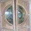 ประตูไม้สักกระจกนิรภัย แกะดอกไม้ เกรดA รหัส NNA179 thumbnail 1