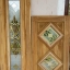 ประตูบานเฟี้ยมไม้สัก กระจกนิรภัย เกรดA,B thumbnail 1