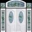 กระจกนิรภัยสเตนกลาส ชุด 7ชิ้น รหัส G39