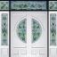 กระจกนิรภัยสเตนกลาส ชุด 7ชิ้น รหัส G38
