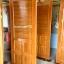 ประตูไม้สักบานเดี่ยว ฟักเกล็ด เกรดA, B+ รหัส C42 thumbnail 1