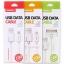 สายชาร์จ iPhone 4 Remax USB Data Cable สีขาว thumbnail 2