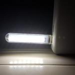 LED USB โคมไฟพกพา 8 led