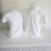 เสื้อโปโลผู้ชาย สีขาว ไซส์/2XL/รอบอก44นิ้ว