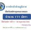 การประปาส่วนภูมิภาค เปิดสอบบุคคลภายนอก จำนวน 171 อัตรา รับสมัครวันที่ 21 - 30 พฤษภาคม 2561