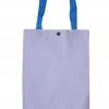 กระเป๋าผ้าดิบกระดุมสายสีฟ้า