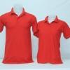 เสื้อโปโลชาย สีแดง ไซส์/2XL/รอบอก44