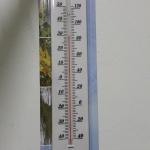 เทอร์โมมิเตอร์ติดผนัง อุปกรณ์วัดอุณหภูมิ ของใช้ในบ้าน