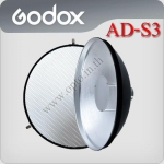 AD-S3/AD-S4 Beauty Dish With Grid For Godox AD180 AD360 Flash
