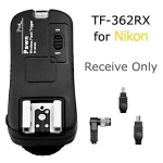 Receive Only TF-362RX Flash Trigger and Wireless Remote For Nikon N8 N6 N10