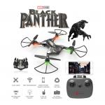 โดรน Black Panther มาพร้อม opticalเซนเซอร์ลอคตำแหน่ง หลักการคล้ายทิ้งสมอเรือยึดโดรนไว้ไม่ให้บินไปกับลม ทำให้โดรนอยุ่นี่งๆได้