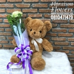 ตุ๊กตาหมี ซิงเกิ้ลโรส (S)