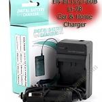 Home + CarBattery Charger For Nikon EN-EL11 Li60B Li78