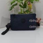 Kipling Creativity XL Alaskan Blue กระเป๋าอเนกประสงค์ 3 ช่อง และ 2ช่องเล็ก ขนาด L21 x H 13 x D 6 cm