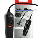 Pixel RC-201 สายลั่นชัตเตอร์ รีโมท Wired Remote C6 For Canon 60D/650D/550D/450D/G12