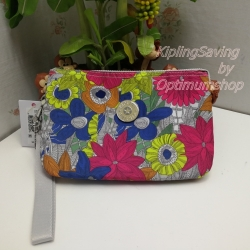 Kipling Creativity XL Floral Carnation ขนาด 8.5 x 5.375 x 1.75 นิ้ว