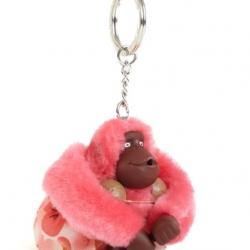 Kipling Hawaii Luau monkey keychain มาพร้อมกล่องพลาสติกใส ขนาด 4x3.25x2.25 นิ้ว สำเนา