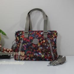 Kipling Angela Harvest Dream กระเป๋าสะพายข้าง ขนาด (กว้าง x ลึก x สูง) 14 x 10 x 5 นิ้ว