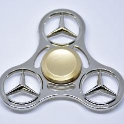 Hand Spinner สามแฉกวงกลมลายเบนซ์