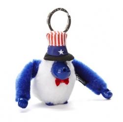Kipling USA monkey keychain มาพร้อมกล่องพลาสติกใส ขนาด 4x3.25x2.25 นิ้ว