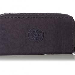 Kipling Uzario Blue Purple C เป็นกระเป๋าสตางค์ใบยาวแบบ 2 ซิปรอบ ขนาด 10 L x 18.5 H x 3.5 W cm