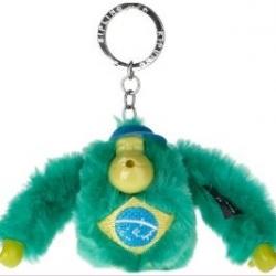 Kipling Brazil monkey keychain มาพร้อมกล่องพลาสติกใส ขนาด 4x3.25x2.25 นิ้ว