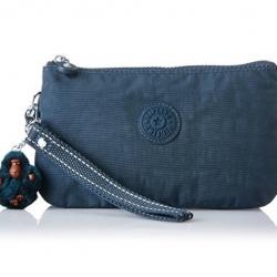 Kipling Creativity XL Deep Emerald C เขียวเข้ม กระเป๋าอเนกประสงค์ 3 ช่อง และ 2ช่องเล็ก ขนาด L21 x H 13 x D 6 cm