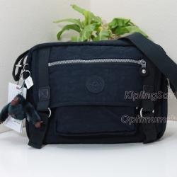 Kipling Gracy True Blue กระเป๋าสะพายข้าง ทรงเก๋ เหมาะกับสาวสมัยใหม่ ขนาด L11.75 x H 8.25 x D 4.75 นิ้ว