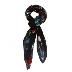Kipling Viscose Scarf Floral Brust ผ้าพันคอเนื้อนุ่ม ลายดอกไม้ ขนาดโดยประมาณ 44x45 นิ้ว