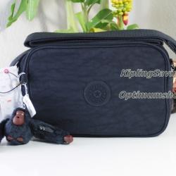 Kipling Dee II True Blue กระเป๋าสะพายน่ารัก ขนาด L7.5 x H 5 X 2.75 นิ้ว