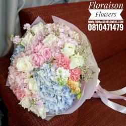 ช่อดอกไม้ Hydrangea (L)