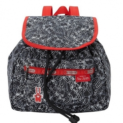 Lesportsac Edie Small Backpack Scribble Rabbit กระเป๋าสะพายหลังขนาดเล็ก ออกแบบเป็นพิเศษโดย Peter Jenzen ขนาด11 x 10 x 5 นิ้ว
