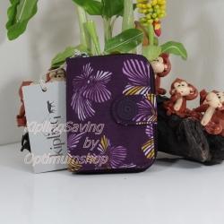 Kipling New Money Herridage Flower เป็นกระเป๋าสตางค์ ขนาดกระชับมือ ขนาด 10 L x 18.5 H x 3.5 W cm