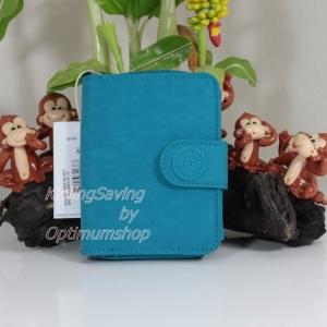 Kipling New Money Polaris Blue เป็นกระเป๋าสตางค์ ขนาดกระชับมือ ขนาด 4 x 5.25 x 1 นิ้ว