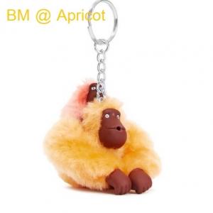 Kipling Baby Monkey Keychain พวงกุญแจลิงแม่ลูก สี Apricot ขนาด 2x5x1 นิ้ว