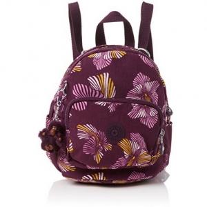 Kipling Mini Backpack Heridage Flower กระเป๋าสะพายหลังขนาดเล็ก เลือกเป็นแบบหิ้ว หรือแบบสะพายได้ ขนาด 17 W x 21.5 D x 19 H cm Small