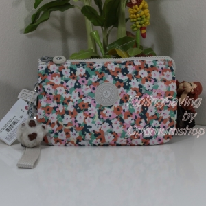 Kipling Creativity XL Meadow Flower Pink ขนาด 8.5 x 5.375 x 1.75 นิ้ว