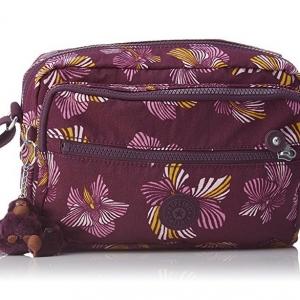 Kipling Deena Herridage Flower กระเป๋าสะพายคล้ายรุ่น Reth ขนาด 25.5 L x 19 H x 12.5 W cm