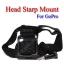 Head Starp Mount for GoPro Hero3+ 2 1 Accessories Camera สายยึดหัวหรือหมวกกันน็อคสำหรับกล้องโกโปร thumbnail 2