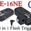 PE-16NE For Canon C8 Flash Trigger and Wireless Remote with Umbrella Holder thumbnail 1