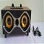 ลำโพงแบบพกพา wireless speakers series สีน้ำตาล thumbnail 1