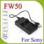 USB NP-FW50 BatteryCharger แท่นชาร์จสำหรับแบตเตอรี่Sony NP-FW50 กล้องรุ่น A7 A7S A7R II A6000 A5100 NEX thumbnail 1