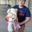 ตุ๊กตาหมี ช่อดอกไม้ โทนสีสดใส (L) thumbnail 4