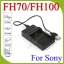 USB FH70/FH100 Battery Charger For Sony NP-FV50 FP50 FH50 thumbnail 1
