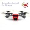 Camera Lens Sunhood For DJI Spark - สีแดง