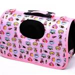 กระเป๋าลายขนมเค้ก สีชมพู