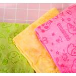 ผ้าเช็ดตัวสุนัข ผ้าเช็ดตัวชามัวร์ (สีเหลือง)