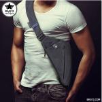 NIID FINO กระเป๋าสะพายข้าง สีดำ(Black Edition)